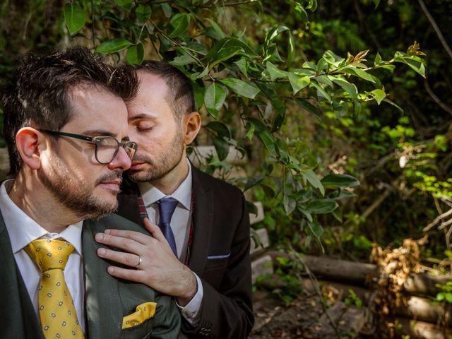 La boda de Alejandro y Alessandro