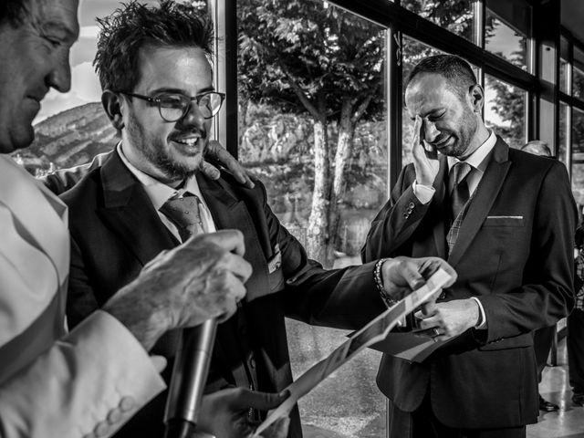 La boda de Alessandro y Alejandro en Ligüerre De Cinca, Huesca 58
