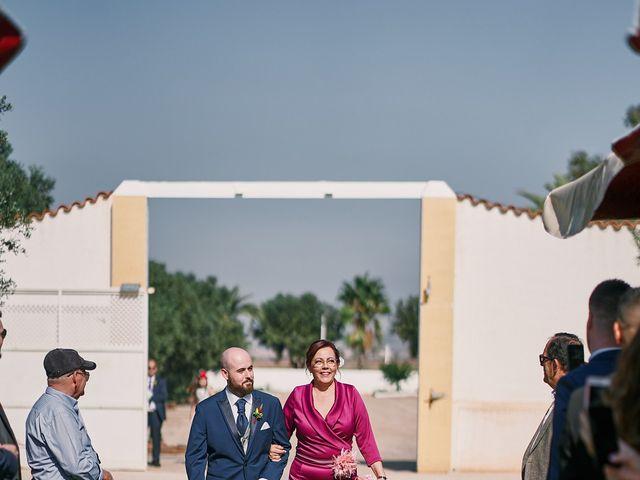 La boda de Aitor y Mª Jesus en La Manga Del Mar Menor, Murcia 20