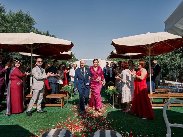 La boda de Aitor y Mª Jesus en La Manga Del Mar Menor, Murcia 21