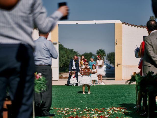 La boda de Aitor y Mª Jesus en La Manga Del Mar Menor, Murcia 25