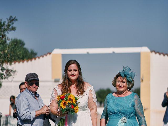 La boda de Aitor y Mª Jesus en La Manga Del Mar Menor, Murcia 27