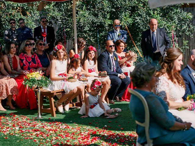 La boda de Aitor y Mª Jesus en La Manga Del Mar Menor, Murcia 33