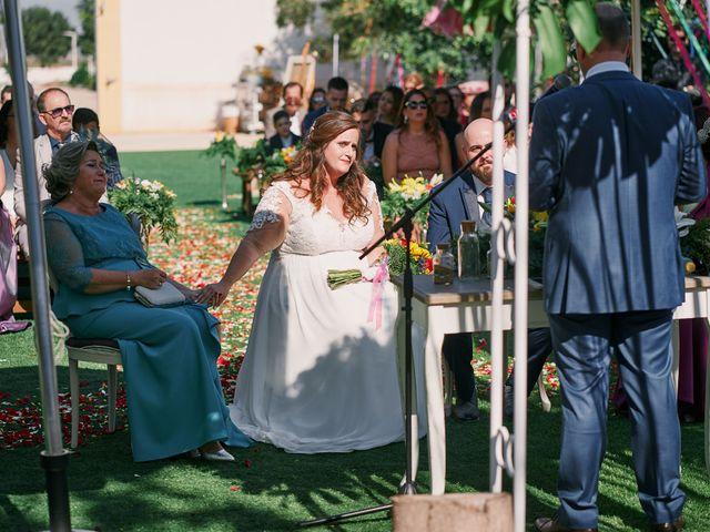 La boda de Aitor y Mª Jesus en La Manga Del Mar Menor, Murcia 37