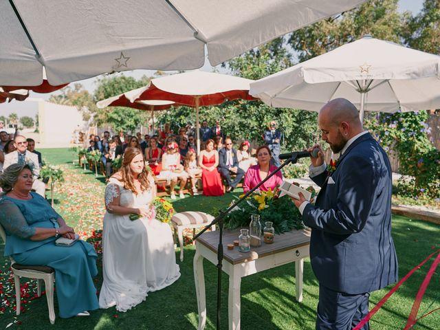 La boda de Aitor y Mª Jesus en La Manga Del Mar Menor, Murcia 42