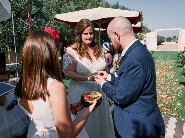 La boda de Aitor y Mª Jesus en La Manga Del Mar Menor, Murcia 48