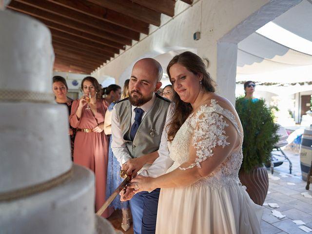 La boda de Aitor y Mª Jesus en La Manga Del Mar Menor, Murcia 76