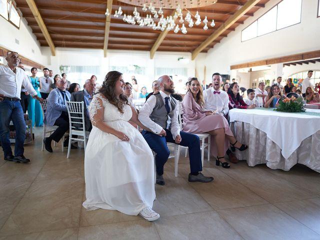 La boda de Aitor y Mª Jesus en La Manga Del Mar Menor, Murcia 79