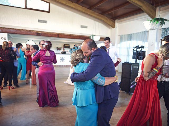 La boda de Aitor y Mª Jesus en La Manga Del Mar Menor, Murcia 84