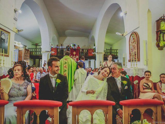 La boda de Jose y Noelia en Herrera Del Duque, Badajoz 17