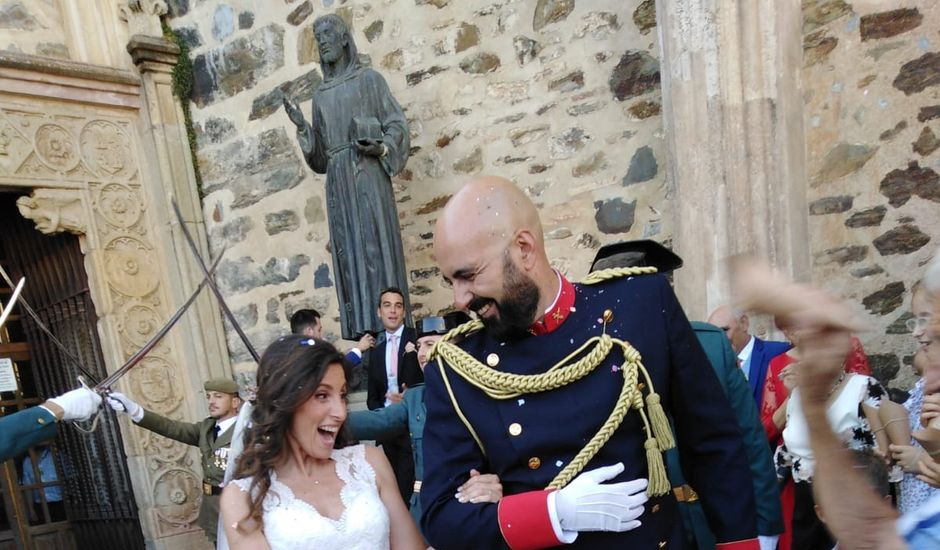 La boda de Oscar y Nuria en Guadalupe, Cáceres