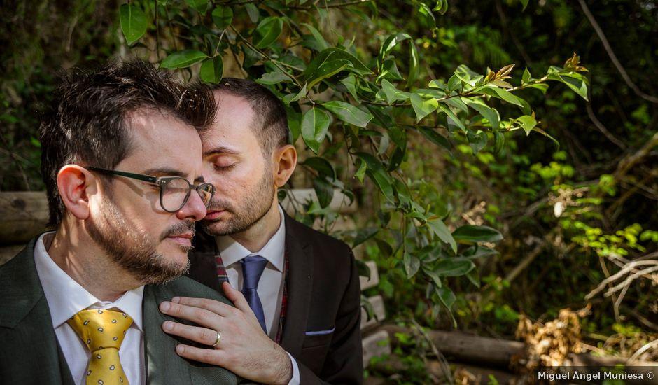 La boda de Alessandro y Alejandro en Ligüerre De Cinca, Huesca