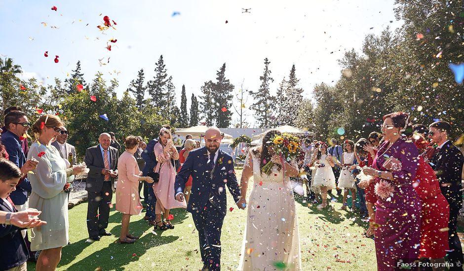 La boda de Aitor y Mª Jesus en La Manga Del Mar Menor, Murcia