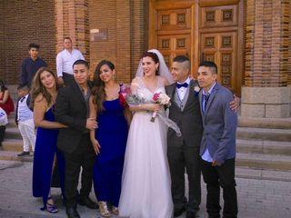 La boda de Leslie  y Dennys Andrés  1