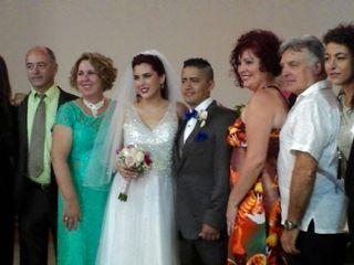 La boda de Leslie  y Dennys Andrés  3