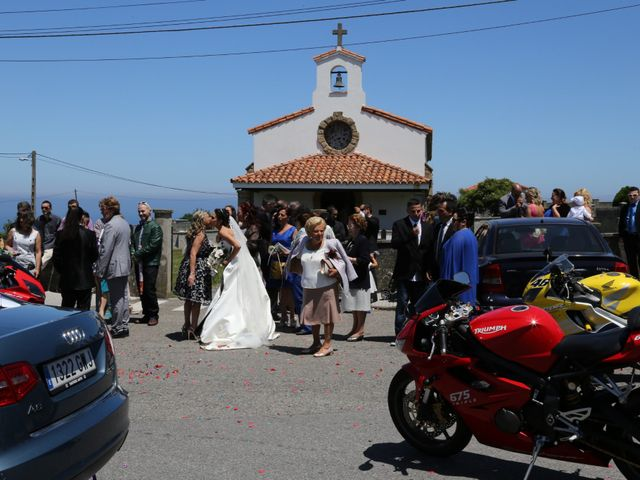 La boda de Toni y Vanessa en Villaviciosa, Asturias 41