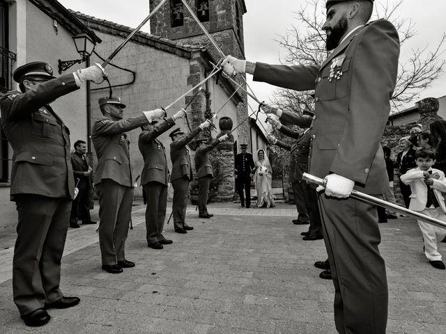 La boda de Ruben y Valle en Brieva, Segovia 15