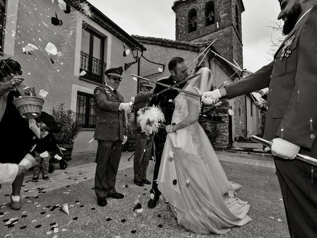 La boda de Ruben y Valle en Brieva, Segovia 17