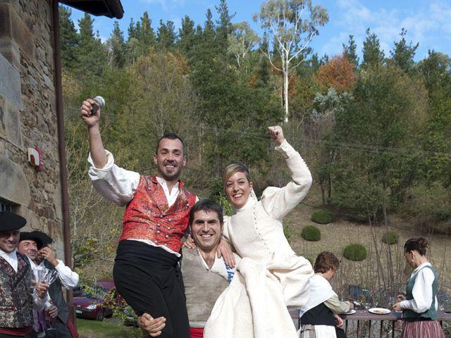 La boda de Ion y Izorne en Valle De Atxondo, Vizcaya 9