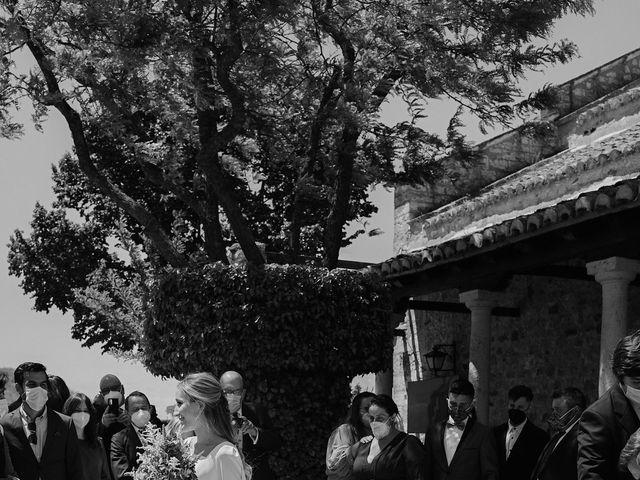 La boda de Jorge y Maria en Ballesteros De Calatrava, Ciudad Real 91