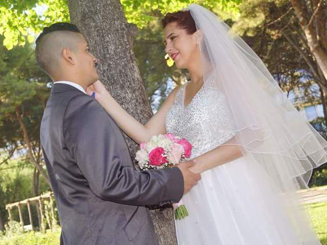 La boda de Dennys Andrés  y Leslie  en L' Hospitalet De Llobregat, Barcelona 1