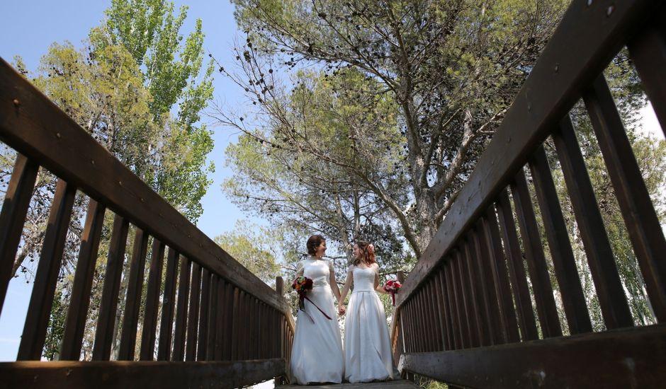 La boda de Cristina y Priscila en Alcala De Ebro, Zaragoza