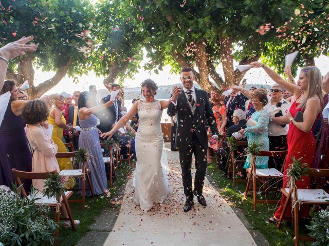 La boda de Rosmery y Dani