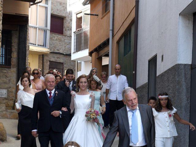 La boda de Edu y Ana en Valdastillas, Cáceres 9