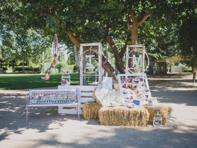 La boda de Iván y Marta en Aranjuez, Madrid 2