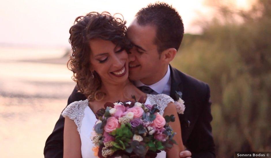 La boda de Alberto y Laura en El Rompido, Huelva