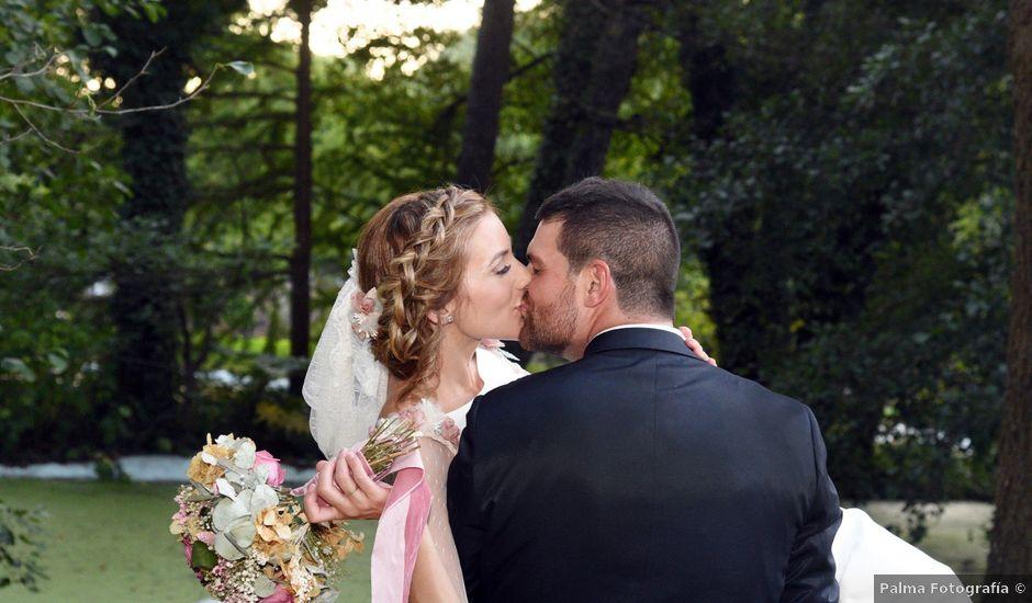 La boda de Edu y Ana en Valdastillas, Cáceres