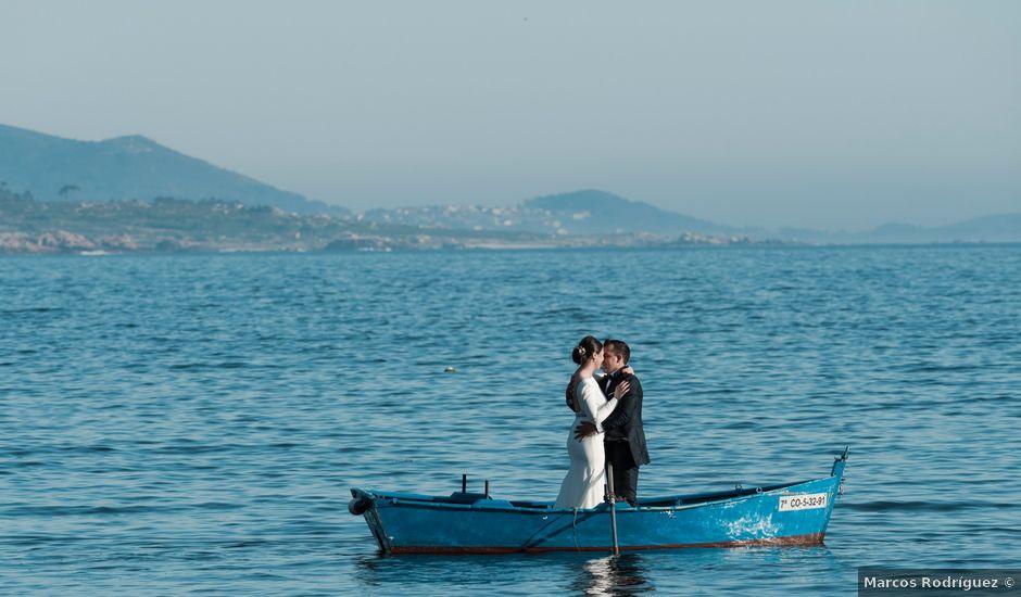 La boda de Isma y Gemma en Muxia, A Coruña