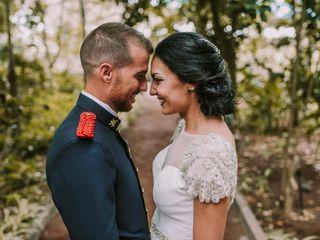 La boda de Jonás y Elena