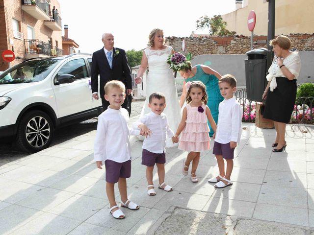La boda de Tomás y Sonia en San Agustin De Guadalix, Madrid 6