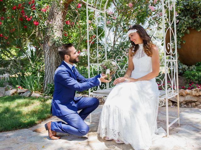 La boda de Alba y Ángel