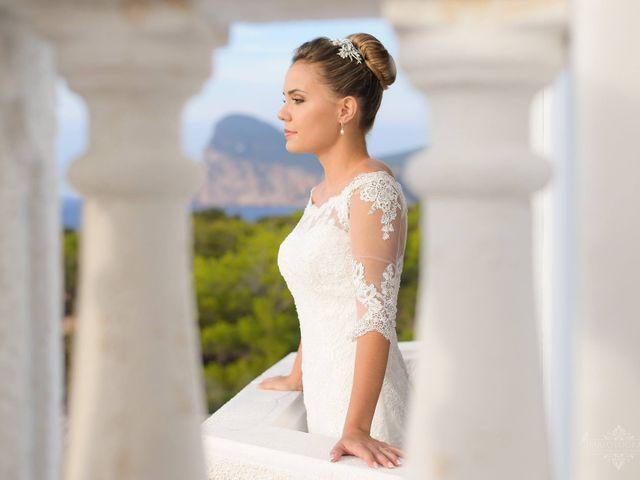 La boda de Marcos y Tanit  en Islas Baleares 8