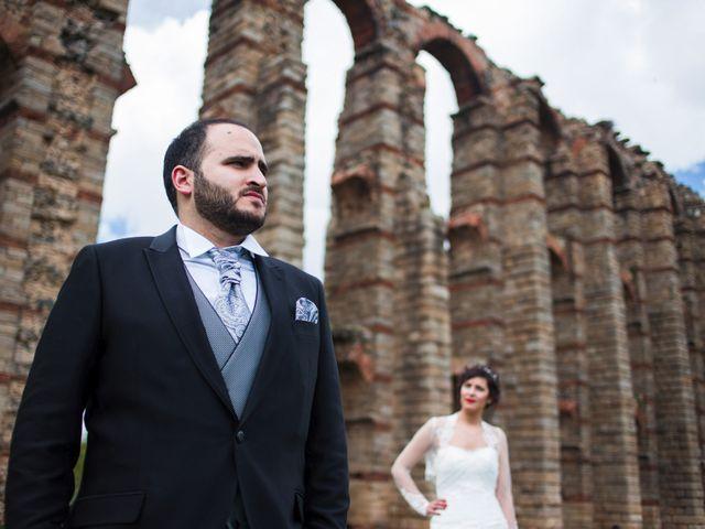 La boda de Jony y Lidia en Mérida, Badajoz 24