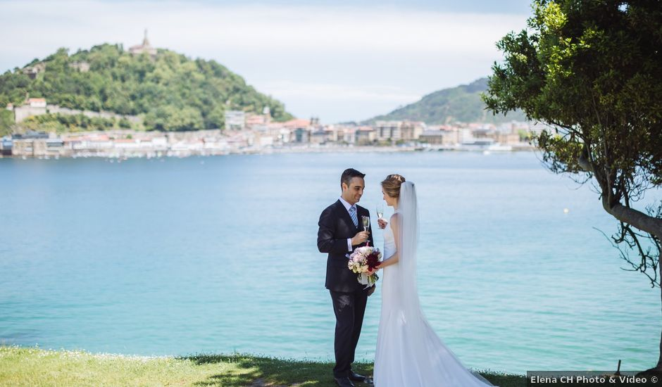 La boda de Millán y Katya en Donostia-San Sebastián, Guipúzcoa