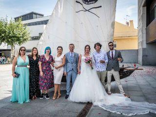 La boda de Elena Otero y Marcos Estevez