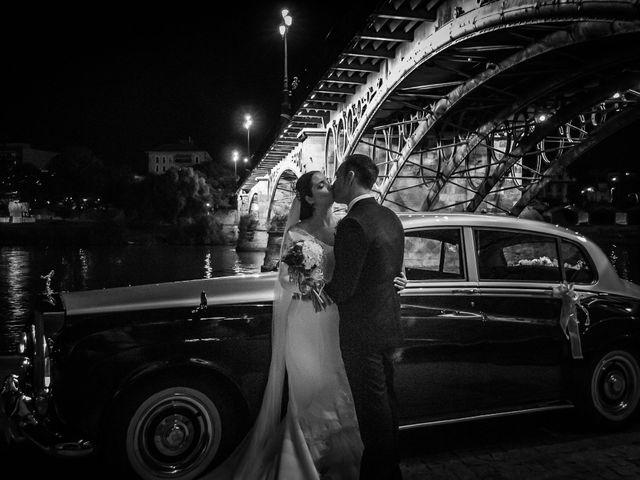 La boda de Miguel Ángel y Mercedes en Sevilla, Sevilla 57