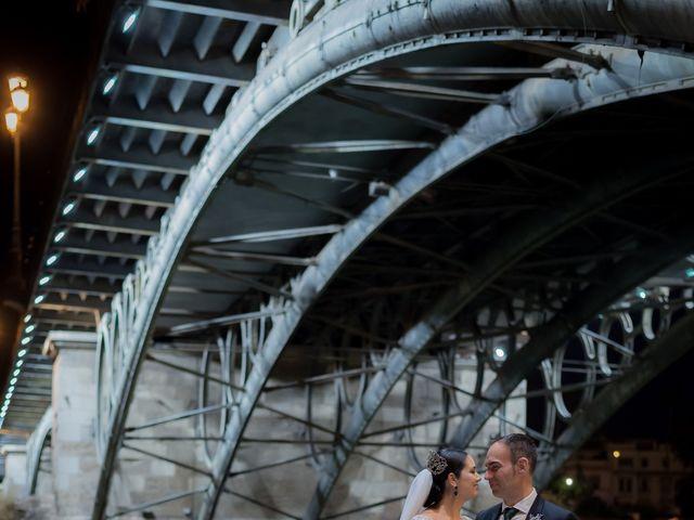 La boda de Miguel Ángel y Mercedes en Sevilla, Sevilla 58