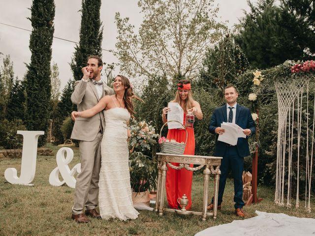 La boda de Joan y Rosa en Sils, Girona 78