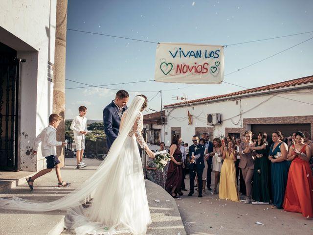 La boda de Cesar  y Anabel  en Carcaboso, Cáceres 1