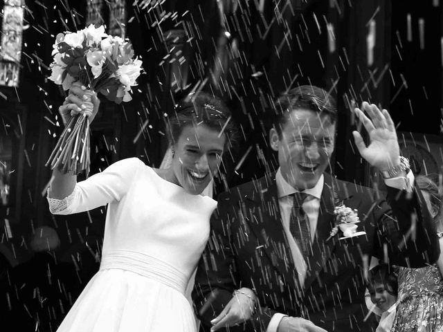La boda de Javier y Maria en San Agustin De Guadalix, Madrid 1