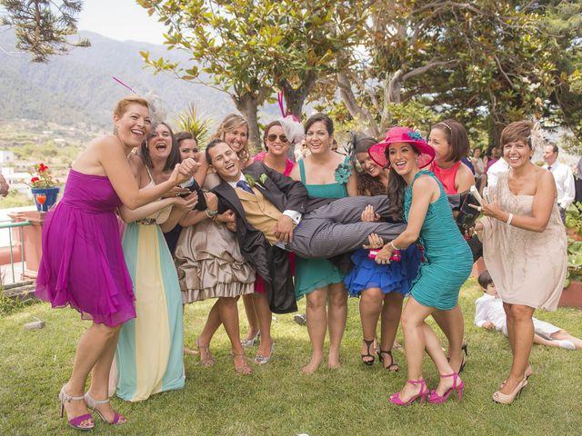 La boda de Jesús y Vanessa en Santa Cruz De La Palma, Santa Cruz de Tenerife 41
