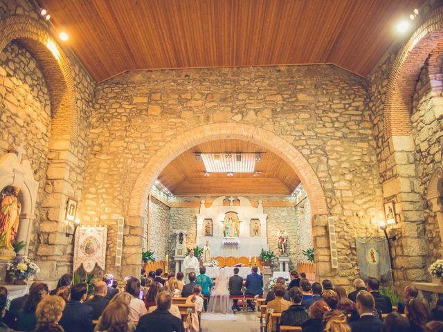 La boda de Diego  y María  en Moralzarzal, Madrid 15