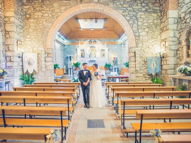 La boda de Diego  y María  en Moralzarzal, Madrid 18