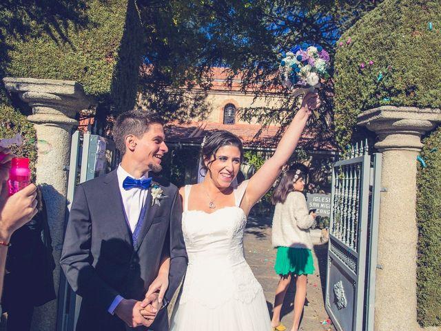 La boda de Diego  y María  en Moralzarzal, Madrid 19