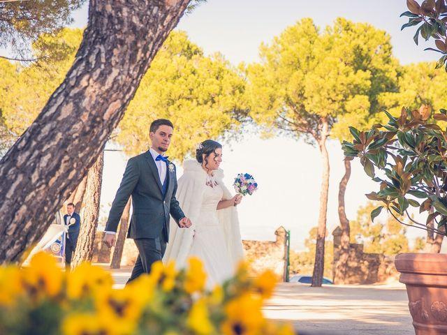 La boda de Diego  y María  en Moralzarzal, Madrid 30