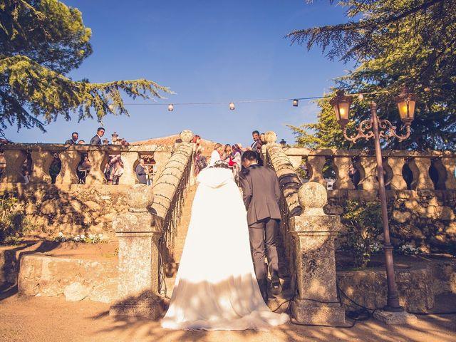 La boda de Diego  y María  en Moralzarzal, Madrid 31